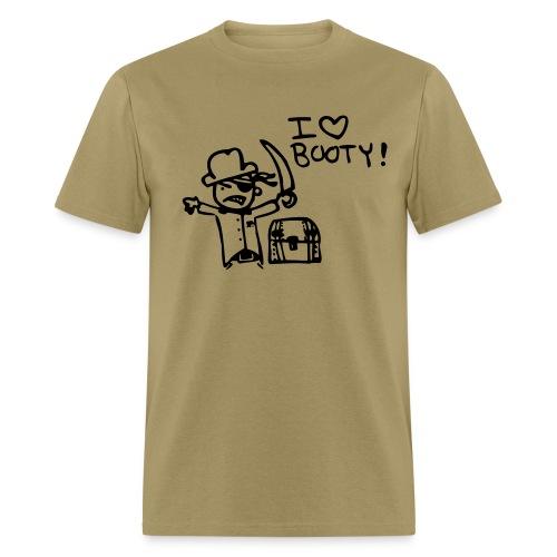 I Love Booty - Men's T-Shirt