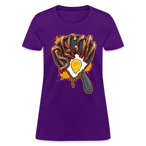 BACON! Womens T-Shirt - Women's T-Shirt