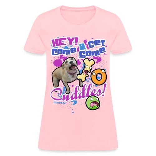 Cuddles Womens T-Shirt - Women's T-Shirt