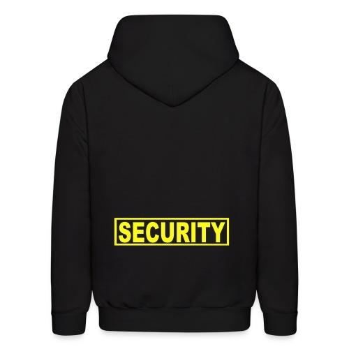 Security Hooded Sweatshirt - Men's Hoodie