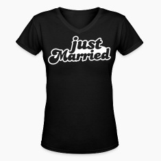 Just Married Women's T-Shirts