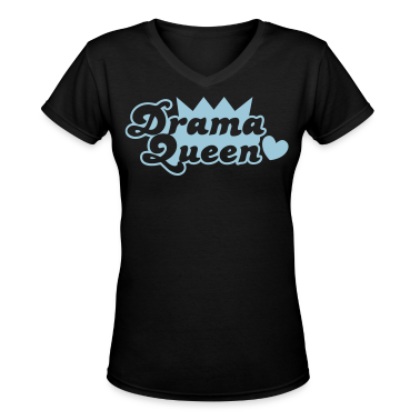 drama queen with love heart Women's T-Shirts