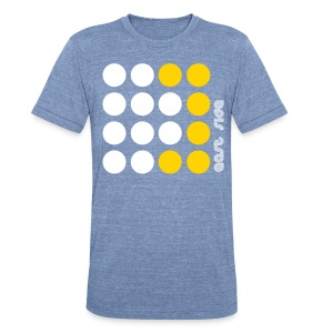 Unisex Tri-Blend T-Shirt - Awesome East Side - East Coast dot design by CityStateTees.com. This shirt was featured in the celebrity grab bags for the MTV Woodie Awards in 2009