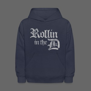 Rollin' in the D - Kids' Hoodie
