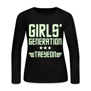 [SNSD] Genie Taeyeon - Women's Long Sleeve Jersey T-Shirt