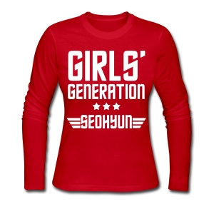 [SNSD] Genie Seohyun - Women's Long Sleeve Jersey T-Shirt