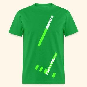Greenscreen (neon) - Men's T-Shirt