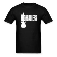 T-Shirts ~ Men's T-Shirt ~ Highballers Classic Cool Black Men's T-Shirt