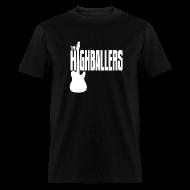 T-Shirts ~ Men's T-Shirt ~ Highballers Classic Cool Black Men's T-Shirt