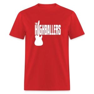 Highballers Classic Candy Apple Red Men's T-Shirt - Men's T-Shirt