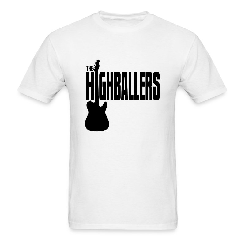 Highballers Standard Trucker White Men's T-Shirt - Men's T-Shirt