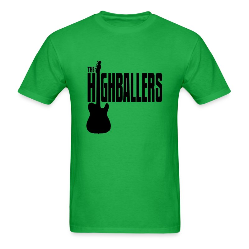 Highballers Spaceman Lime Men's T-Shirt - Men's T-Shirt