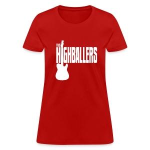 Highballers Candy Apple Red Women's T-Shirt - Women's T-Shirt