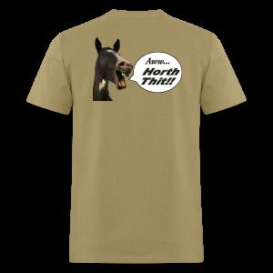 Men's Standard T- Back- Horth Thit! - Men's T-Shirt