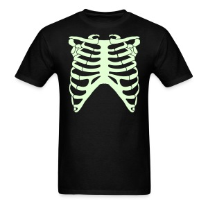 SKELETON RIB CAGE - GLOW-IN-THE-DARK T-Shirt - Men's T-Shirt