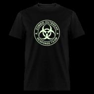 T-Shirts ~ Men's T-Shirt ~ ZOMBIE OUTBREAK RESPONSE TEAM T-Shirt GLOW-IN-THE-DARK T-Shirt
