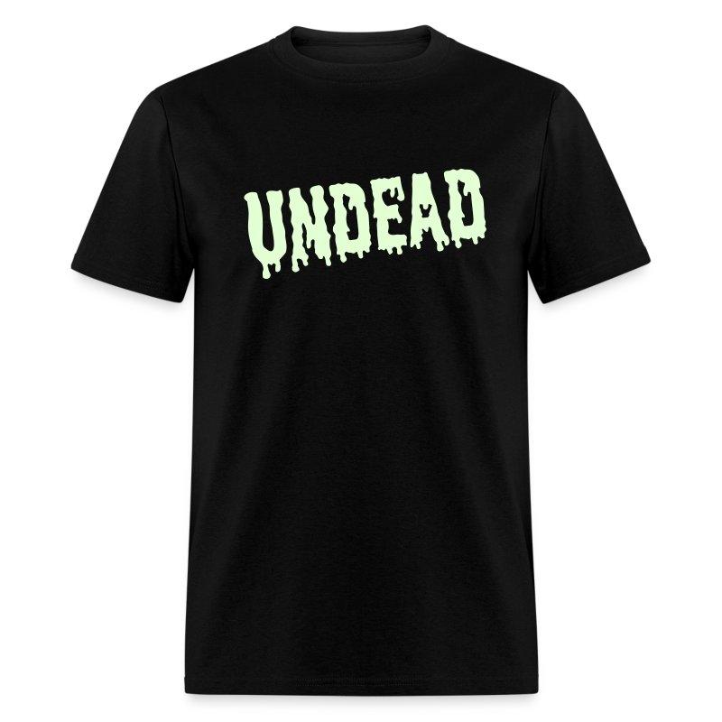UNDEAD T-Shirt GLOW-IN-THE-DARK T-Shirt - Men's T-Shirt