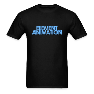T-Shirts ~ Men's T-Shirt ~ Element Animation - Mens shirt