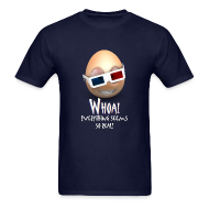 T-Shirts ~ Men's T-Shirt ~ Jason's a Moron - 3D Glasses - Mens shirt