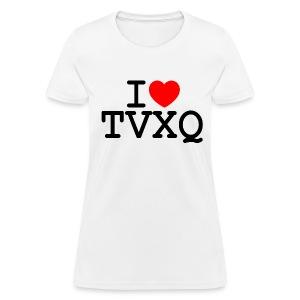 I ♥ TVXQ - Women's T-Shirt
