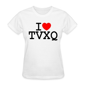I ♥ TVXQ - Women's T-Shirt