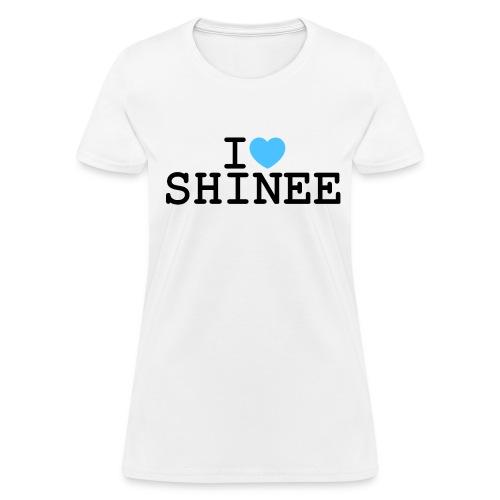 I ♥ SHINee - Women's T-Shirt