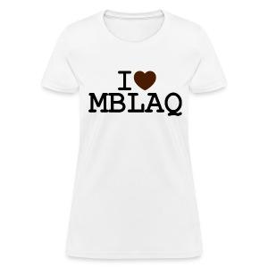 I ♥ MBLAQ - Women's T-Shirt