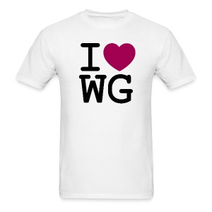 I ♥ Wonder Girls - Men's T-Shirt