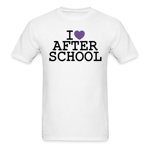 I ♥ After School - Men's T-Shirt
