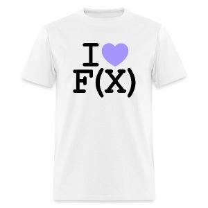I ♥ f(x) - Men's T-Shirt