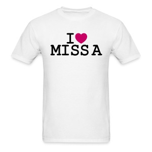 I ♥ Miss A - Men's T-Shirt