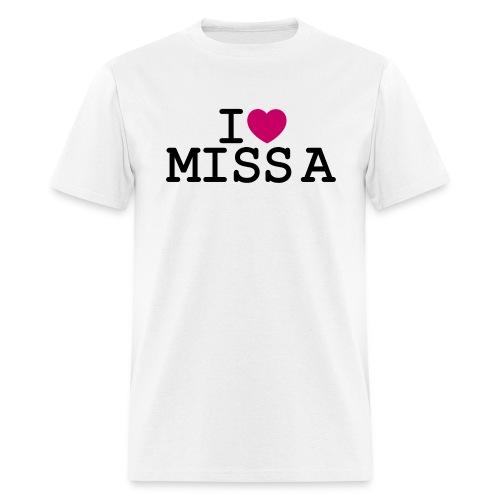 I ♥ Miss A - Men's T-Shirt