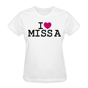 I ♥ Miss A - Women's T-Shirt