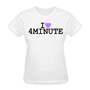 I ♥ 4MINUTE - Women's T-Shirt