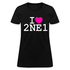 I ♥ 2NE1 - Women's T-Shirt