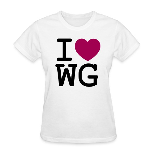 I ♥ Wonder Girls - Women's T-Shirt
