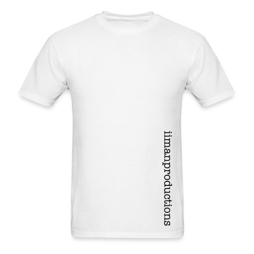 Vertical Words (White) - Mens - Men's T-Shirt