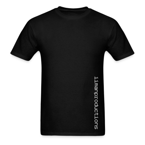 Vertical Words (Black)- Mens - Men's T-Shirt