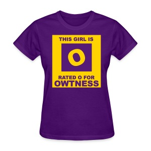 Rated OWTness 2 - Women's T-Shirt