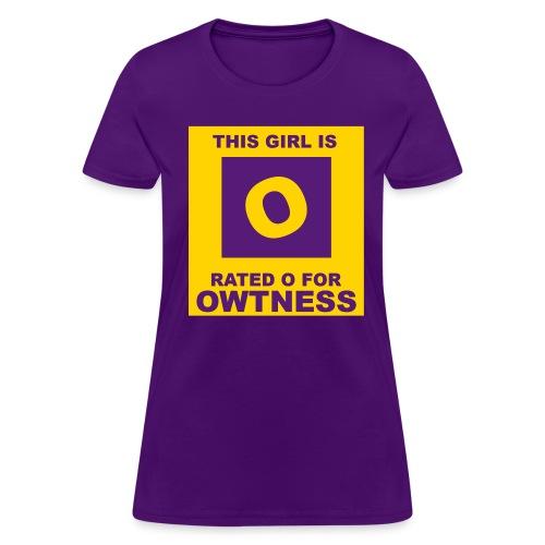 Rated OWTness 2 - Women's T-Shirt