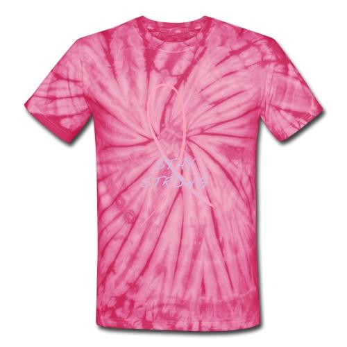 Breast Cancer Awareness - Unisex Tie Dye T-Shirt