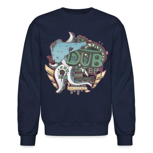 Pull Over Dubstep Monsters NAVY - Crewneck Sweatshirt