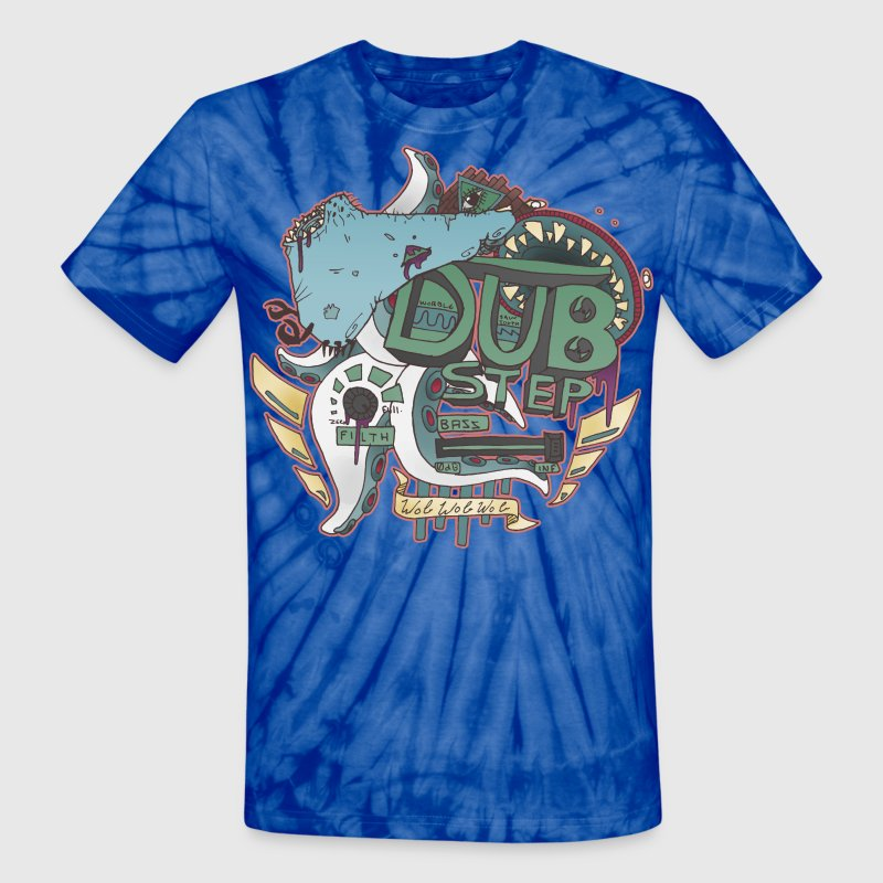 Dubstep Monsters T-Shirts - Unisex Tie Dye T-Shirt