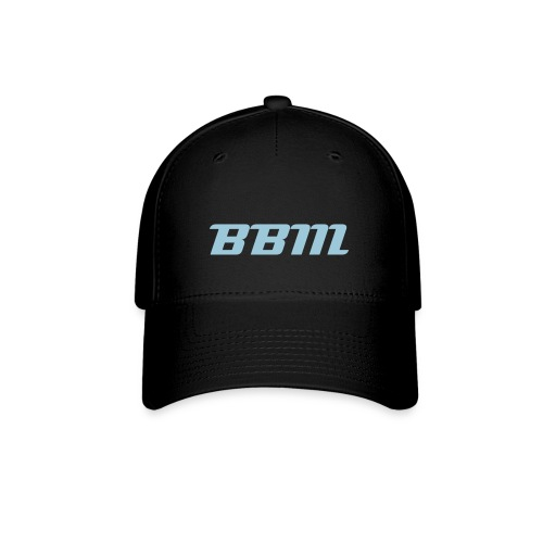 BBM Baseball Cap White with Powder Blue - Baseball Cap