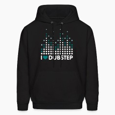 I Love Dubstep Men's Hoodies & Sweatshirts