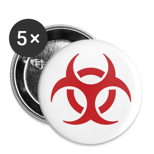 Biohazerd Buttons - Large Buttons