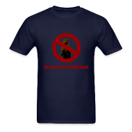 T-Shirts ~ Men's T-Shirt ~ No Otters on the Flight Deck