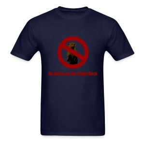 No Otters on the Flight Deck - Men's T-Shirt