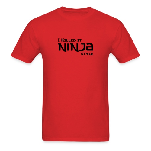 ninja style - Men's T-Shirt