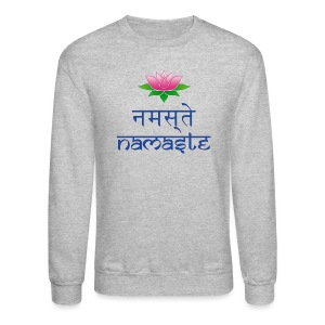 Men's Namaste Sweat Shirt - Crewneck Sweatshirt